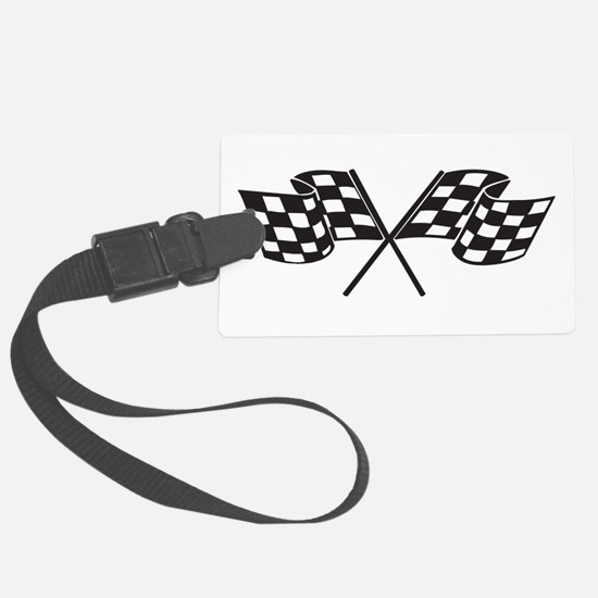 Checkered Flag, Race, Racing, Motorsports Luggage