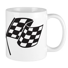 Checkered Flag, Race, Racing, Motorsports Mugs