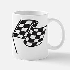 Checkered Flag, Race, Racing, Motorsports Mugs