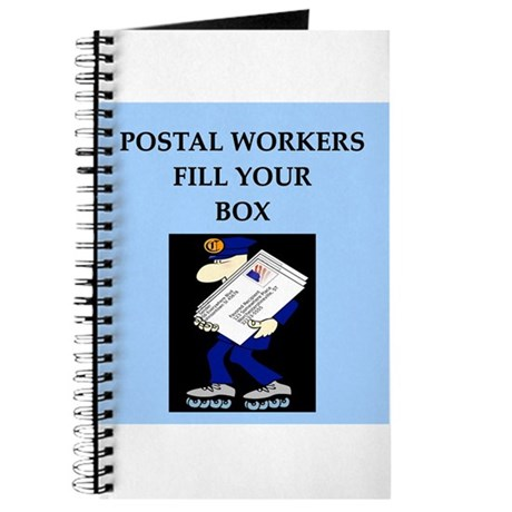 mailman gifts and t-shirts Journal