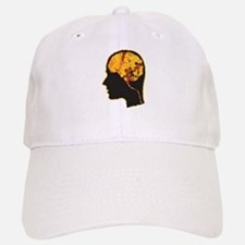 Brain, Mind, Intellect, Intelligence Baseball Baseball Baseball Cap