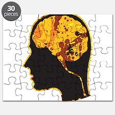 Brain, Mind, Intellect, Intelligence Puzzle