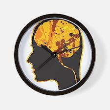 Brain, Mind, Intellect, Intelligence Wall Clock