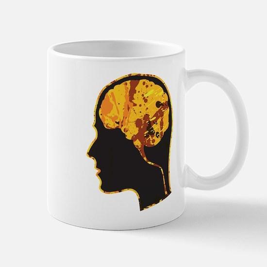 Brain, Mind, Intellect, Intelligence Mugs
