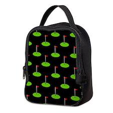 'Golf Course' Neoprene Lunch Bag