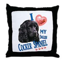 cockerspaniel2 Throw Pillow