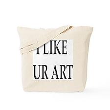 Ur Art (Front & Back) Tote Bag