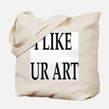 Ur Art (Front) Tote Bag