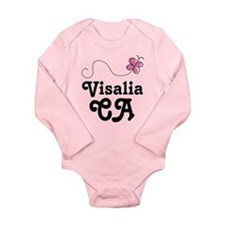 Visalia California Long Sleeve Infant Bodysuit