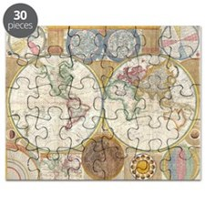 World Map 1794 Puzzle