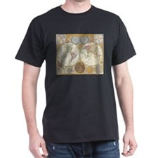 World Map 1794 T-Shirt