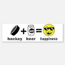 Funny Hockey Bumper Bumper Bumper Sticker