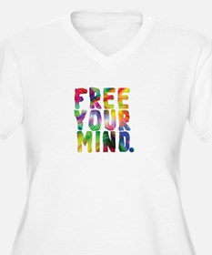 FREE YOUR MIND Plus Size T-Shirt