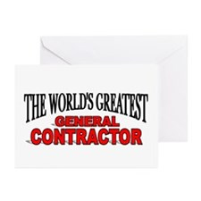"""""""The World's Greatest General Contractor"""" Greeting"""