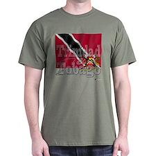Silky Flag Trinidad & Tobago T-Shirt