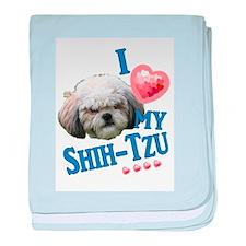 Shih-Tzu baby blanket