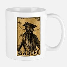 Blackbeard Wanted Poster Mugs