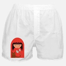 Red Riding Hood and her Big Bad Wolf Boxer Shorts