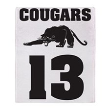 COUGARS Throw Blanket