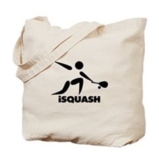 Game Of Squash iSquash Logo Tote Bag