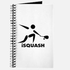 Game Of Squash iSquash Logo Journal