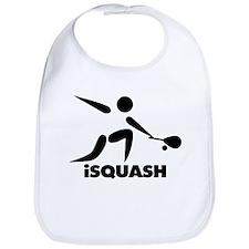 Game Of Squash iSquash Logo Bib