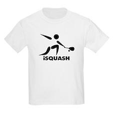 Game Of Squash iSquash Logo T-Shirt