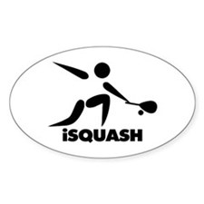 Game Of Squash iSquash Logo Decal