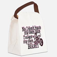 Got My Own Biker Canvas Lunch Bag
