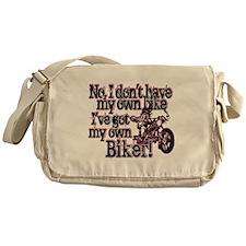 Got My Own Biker Messenger Bag