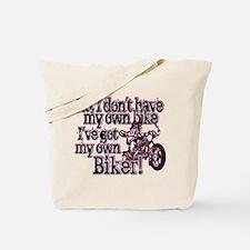 Got My Own Biker Tote Bag