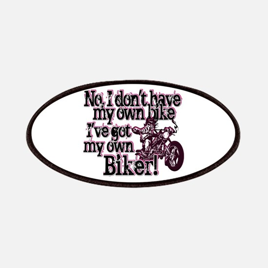 Got My Own Biker Patches