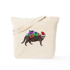Santa Cat Presents Tote Bag
