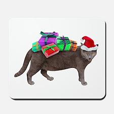 Santa Cat Presents Mousepad