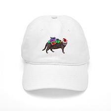 Santa Cat Presents Baseball Cap