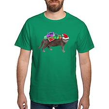 Santa Cat Presents T-Shirt