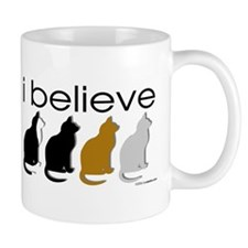 I believe in cats Mug