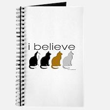 I believe in cats Journal