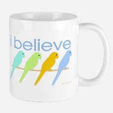 I believe in parakeets Mug