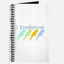 I believe in parakeets Journal