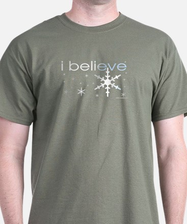 I believe in snow T-Shirt
