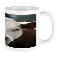 Buster Beefcake the Cow Small Mugs
