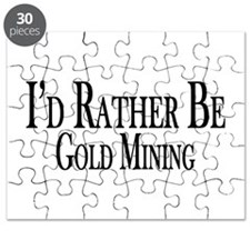 Rather Be Gold Mining Puzzle