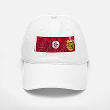 Silky Flag Tunisia/Arab Baseball Baseball Cap