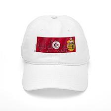Silky Flag Tunisia/Arab Baseball Cap
