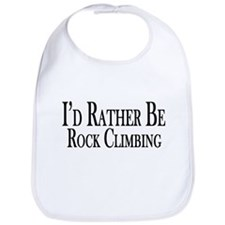 Rather Be Rock Climbing Bib