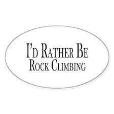 Rather Be Rock Climbing Decal