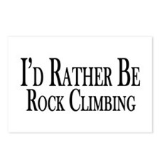 Rather Be Rock Climbing Postcards (Package of 8)