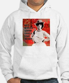Cowgirl Quotables Mixed Media Collage Hoodie