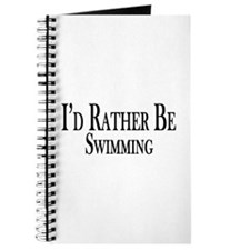 Rather Be Swimming Journal